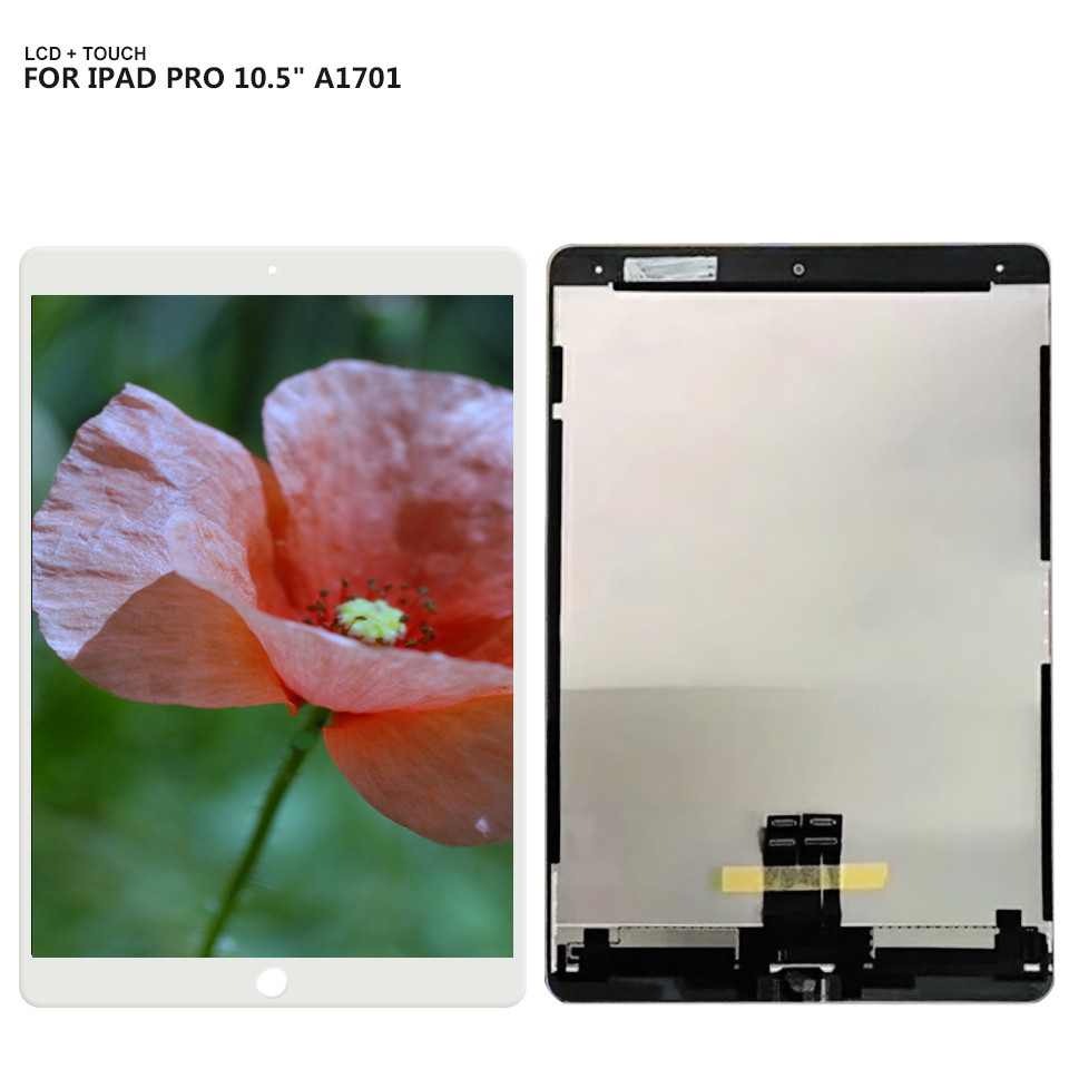 For 10.5 iPad Pro Lcd Display Touch Screen Digitizer Panel Assembly Replacement For A1701 A1709 LCD replacement full lcd display touch screen digitizer for htc desire s s510e g12