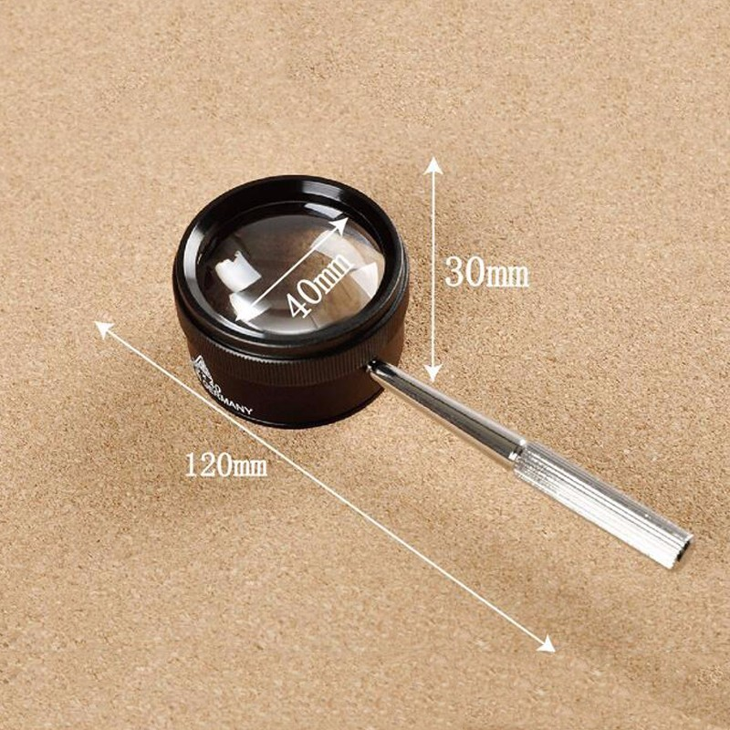 FGHGF 30X 40mm Portable Portable Handheld Magnifying Optical Glass - Strumenti di misura - Fotografia 6