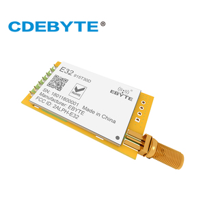 Image 2 - E32 915T30D Lora Lange Bereik Uart SX1276 915 Mhz 1W Sma Antenne Iot Uhf Draadloze Transceiver Zender Ontvanger Module