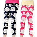 Meninas Leggings calças crianças roupas de bebê impresso borboleta flor meninas calças de alta qualidade frete grátis