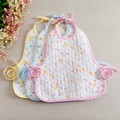 Belva 2016 3 pcs/lot cotton baby bibs baberos plastic bibs for babies bib plastic bibs for 1-3T babies 142