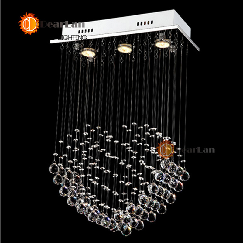 Good Looking Pendant Lights Crystal Pendant Lamps High Quality K9 Crystal Hanging Lights For Dinning Room/Bedroom With G10 Bulbs fashional black white pendant lamps good looking hanging lights for indoor decoration for dinning room living room rest room