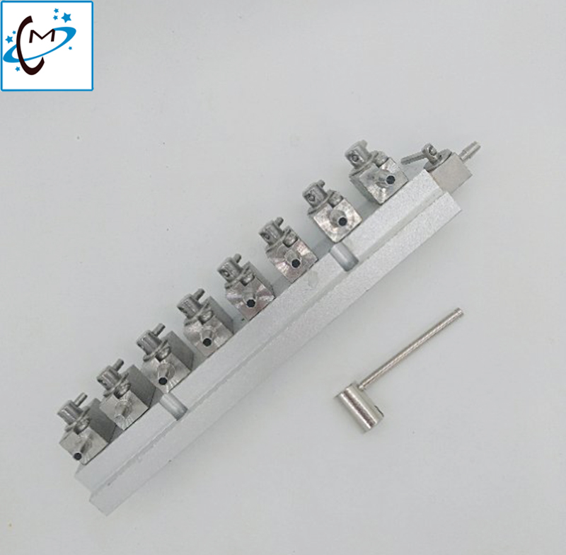 Lowest price Flora Gongzheng large format printer machine metal cleaning valves unit 8 way handle valve