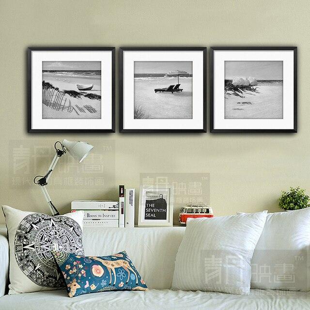 Negro y blanco salón dormitorio moderno restaurante minimalista ...