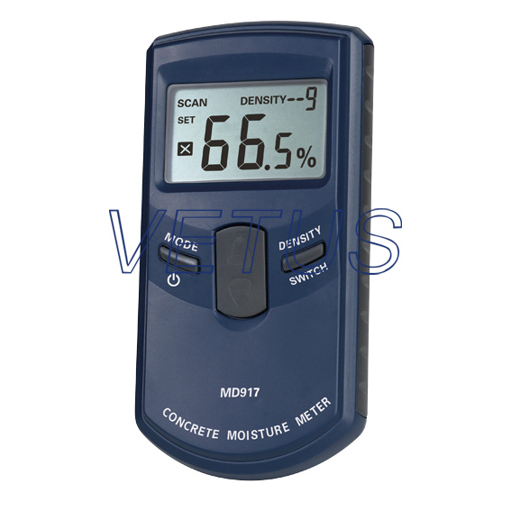 MD917 concrete moisture meter with measuring range 0~40% md917 handheld concrete ground moisture meter with high quality