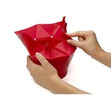 silicone popcorn box Maker storage container Foldable microwave pop corn box