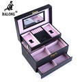 Snakeskin Pattern Jewelry Storage Organizer Box Multilayer Jewelry Display Box Necklace Earrings Bracelet Storage Container