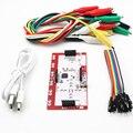 MK Conjunto Kit Deluxe com Cabo USB Dupond Linha Jacaré Clips para Crianças Frete Grátis