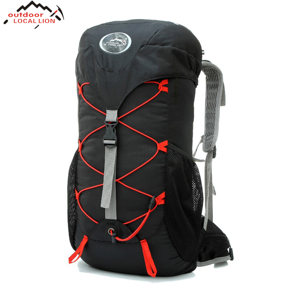 LOCAL LION Sports 35L Cycling Bag Camping Travel Mountain Backpack Backpack Men's travel bags Bicycle Cycling Bag Hiking Bag