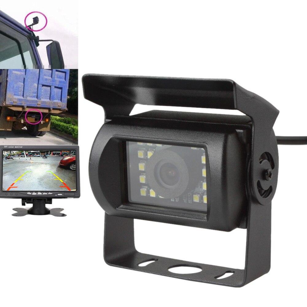Étanche Anti-Choc Auto Vue Arrière de Voiture Caméra Night Vision Camion Bus Van de Recul De Sauvegarde Caméra De Recul Aide Au Stationnement