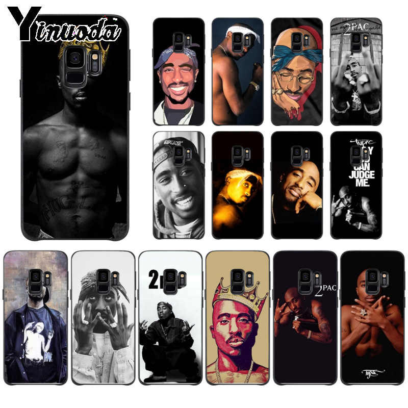 Yinuoda 2Pac Tupac Custom Photo Soft case สำหรับ Samsung Galaxy s9 s8 plus หมายเหตุ 8 note9 s7 s10lite coque