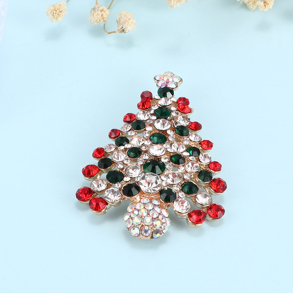 104b22914cd 1 pc New Arrival Crystal Rhinestone Alloy Christmas Tree Brooch Pins Party  Jewelry Accessories-in Brooches from Jewelry & Accessories on  Aliexpress.com ...