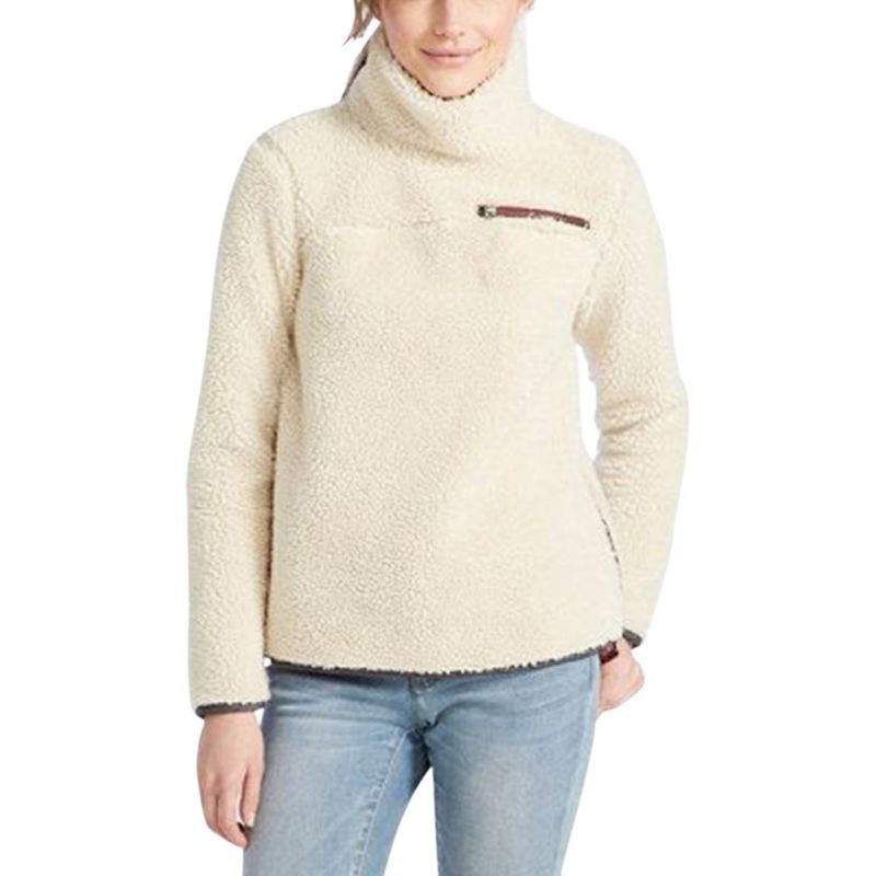 231f54414e Fashion Turtleneck Sweater Women Pullover Tops Fluffy Fleece Warm Autumn  Winter Long Sleeve Ladies Zip Solid Sweaters Jumper