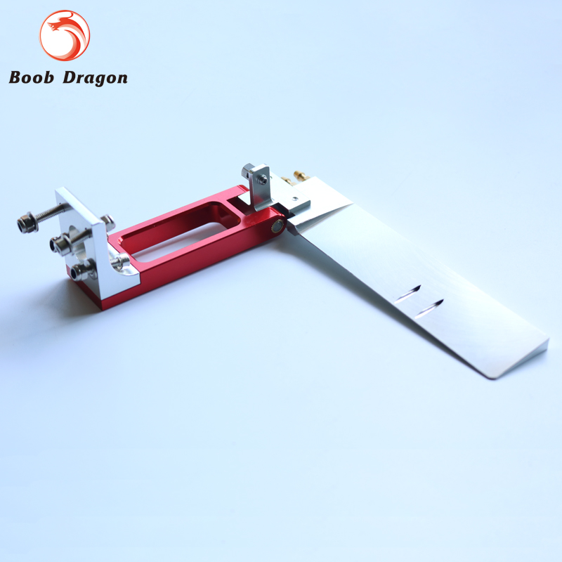 160mm rudder w/ dual water pickup for 23-35cc gas engine rc boat aluminum water cool flange fits 26 29cc qj zenoah rcmk cy gas engine for rc boat