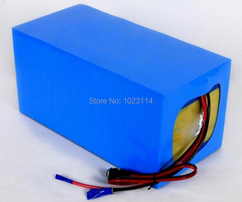 Fedex Free Shipping font b Electric b font Bicycle Battery 72V 15Ah with Charger BMS Lithium