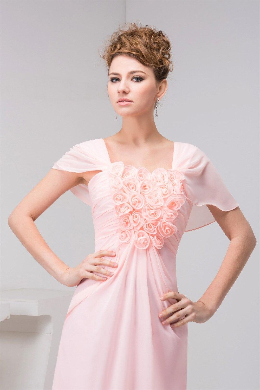 Atractivo Rosa Vestidos De Fiesta Brillantes Embellecimiento ...
