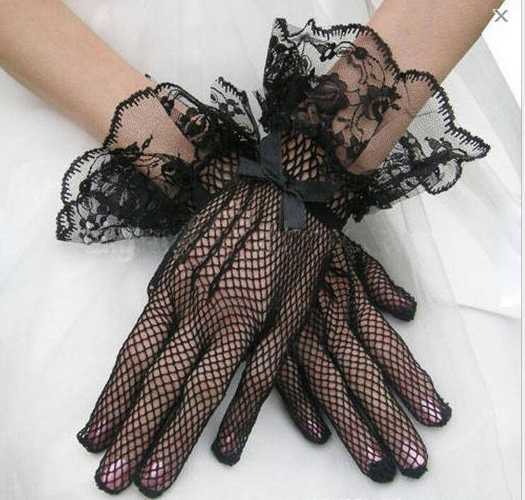 Women's Sexy Lace Gloves Girls Lace Gloves Mesh Gloves R1940