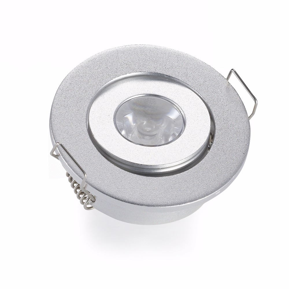 Recessed Ceiling Spot lights Include Led Driver Hole size 40 45mm DC12 24V 1W 3W Mini