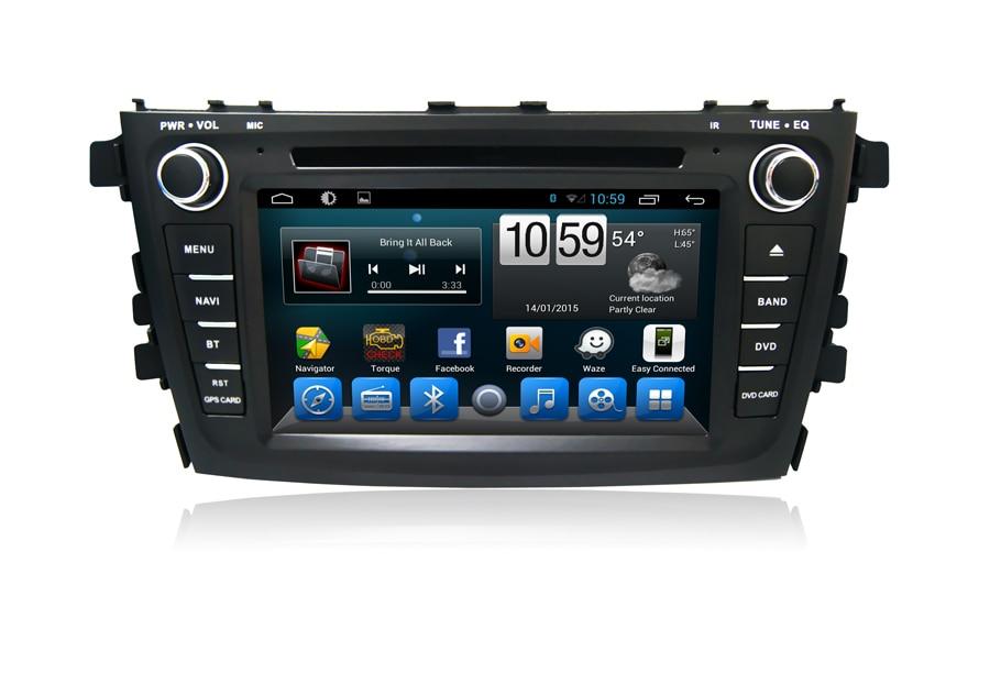 Top Navirider car dvd player for Suzuki Alto/celerio octa core android 8.1.0 car gps multimedia head unit stereo tape recorder 0