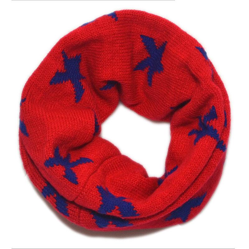 11,11 Ringe Schal Für Kinder Mädchen Jungen Stern Dobby Rohr Schals Baby Warme Winter Elegantes Und Robustes Paket
