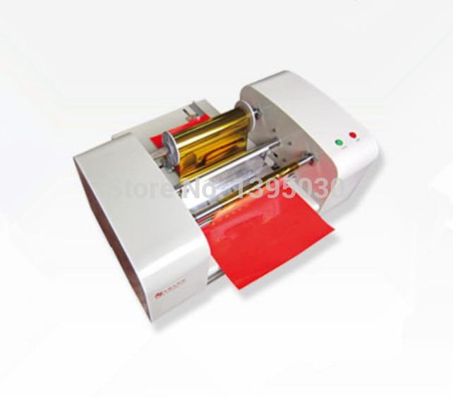 TJ-256 Digital Hot Foil Stamping Machine Gilding Flatbed Printer Press Machine tj