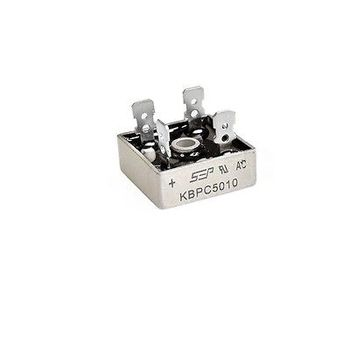 10pcs 50A 1000V Metal Case Single Phases Diode Bridge Rectifier KBPC5010 10pcs smd us1m uf4007 1a 1000v sma fast recovery diode rectifier