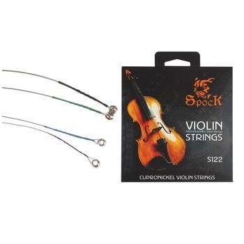 Profesjonalne struny skrzypcowe ze stopu Cupronickel (4 szt W tym jedno opakowanie) struny skrzypcowe skrzypce tanie i dobre opinie CN (pochodzenie) Do skrzypiec EPC_MIA_111 Professional cupronickel alloy violin strings