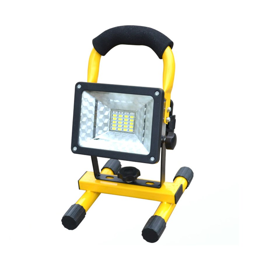 Rechargeable LED Floodlight 5730 Portable Spotlight Movable Outdoor camping light grassland Not included 3*18650 batteries