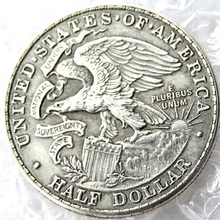 USA 1918 Illinois Centennial Half  Dollar Copy Coins