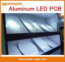 Free Ship Custom 1.0mm,1.2mm,1.5mm ,2mm, 3.2mm LED PCB Aluminium PCB MCPCB board