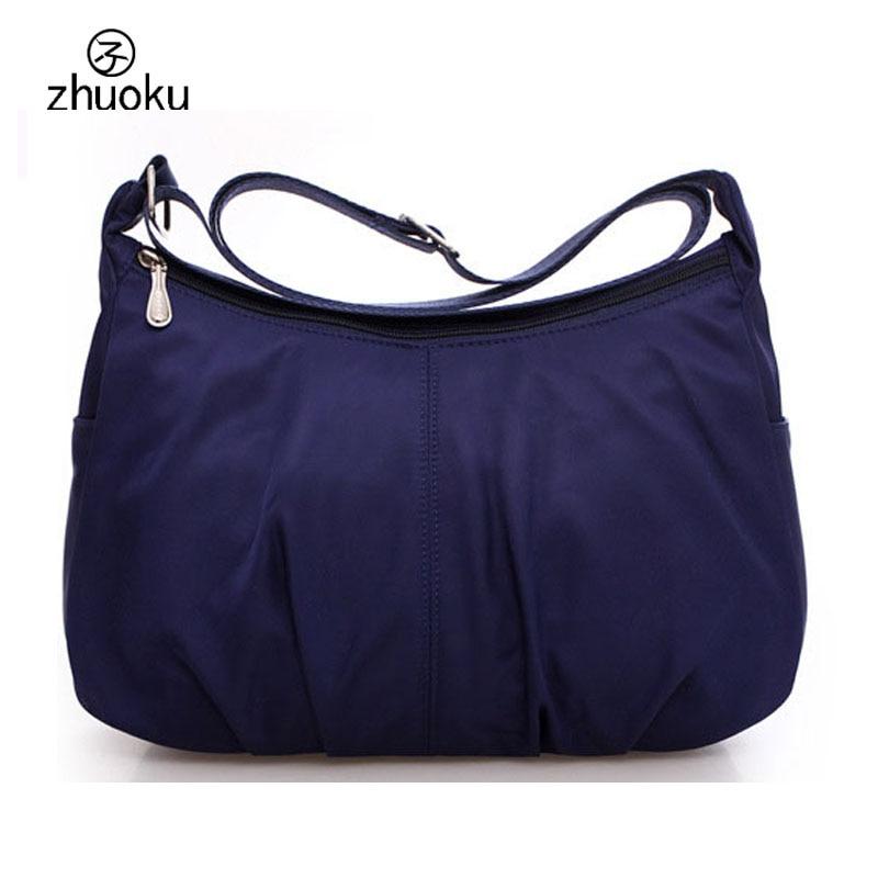 Sacos do mensageiro das mulheres náilon à prova dwaterproof água viagem casual embreagem carteira hobos bolsa de ombro grande capacidade sacos crossbody bolsas
