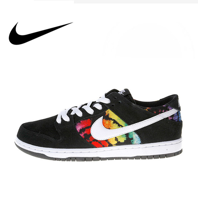 official photos 4e0d5 ad047 US $149.58 35% OFF|Original Authentic Nike Dunk SB Low Pro Iw Leisure Men's  Skateboarding Shoes Sports Sneakers Comfortable Breathable Flat 819674-in  ...