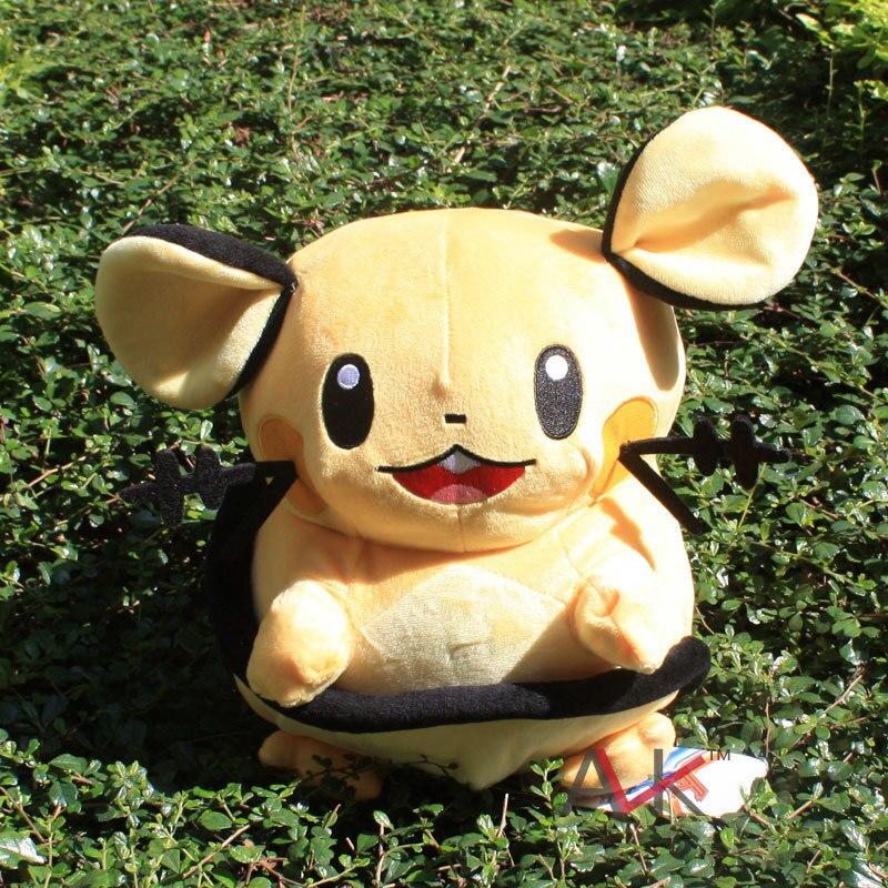 30cm Pokemon Dedenne Plush Doll Toy Pocket Monster Stuffed Dolls Figure Doll Gifts for Children Free
