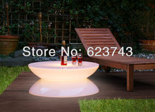 Free shipping led Illuminated Furniture,Lounge LED,waterproof table,led coffee table rechargeable for Bars,Christmas BY EMS