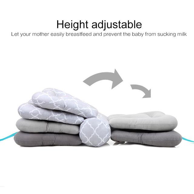 Almohada de lactancia ajustable – modelo mariposa