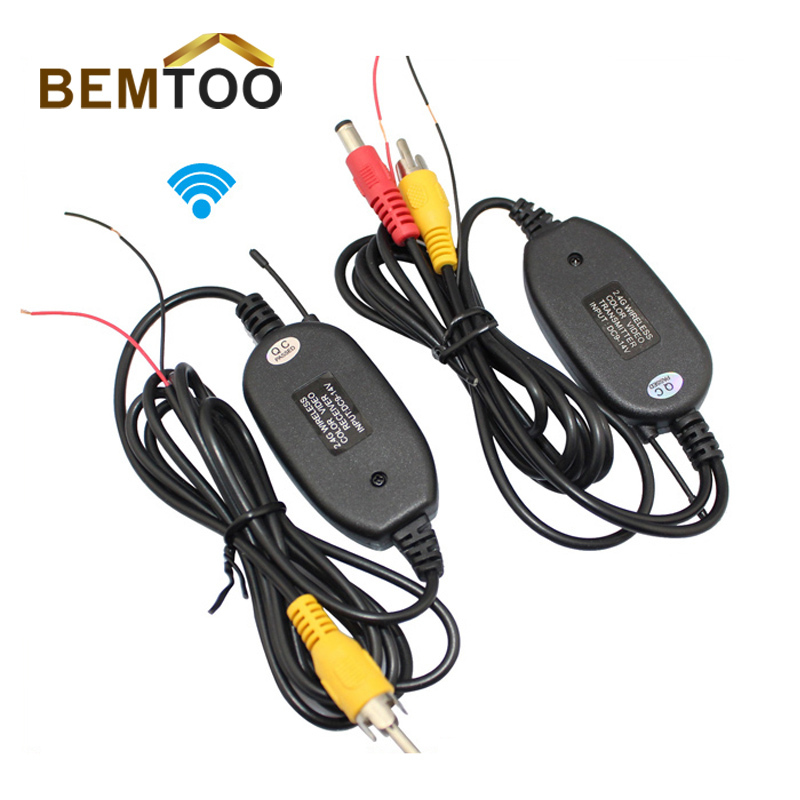 BEMTOO 2.4G WIRELESS Module adapter for Car Reverse Rear View backup ...
