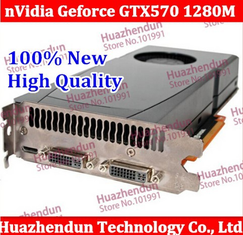 New High Quality Orighinal nVidia Geforce GTX570 1280MB PCI E Video Graphic Card Graaphic card GTX 570