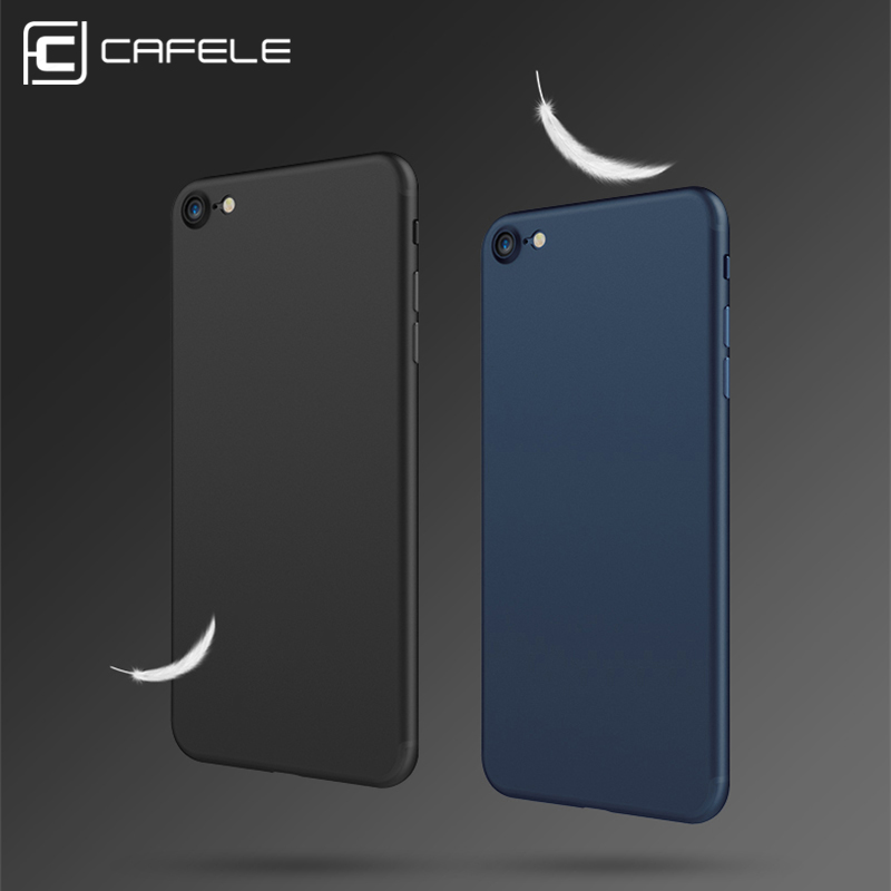 Original CAFELE Phone case for iphone 7 Ultra Thin Cute colors PP cases for Apple iphone 7 plus Fashion flexibility back Case