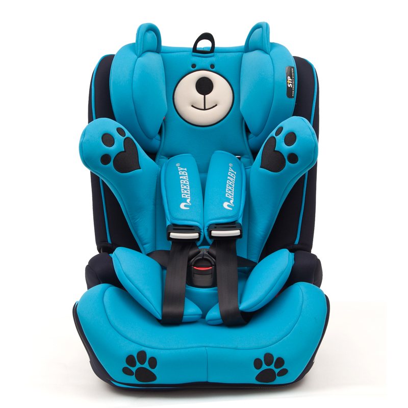 5 colors child safety seat baby car seat ISOFIX interface kids Car Safety Seats 0-12 years old children car safety seats