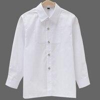 Boys White Full Sleeves Shirt Children Formal Shirts Kids Long Sleeves Shirts Boys Attire Party Wedding