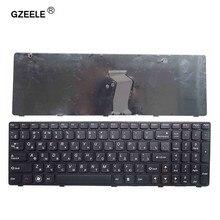 Новая русская клавиатура GZEELE для Lenovo T4G8-RU G580 Z580A G585 Z585 Русская клавиатура для ноутбука с черной рамкой