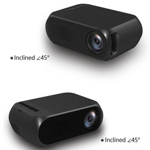 Hot Dropshipping YG320 Mini Home Theater Cinema TV Portátil LED 1080 P HDMI/USB/SD/AV 18mar15