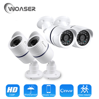 WOASER HD 1080P 48V IP Camera PoE IEEE 802 3af 2 0MP Waterproof IP65 Out Indoor
