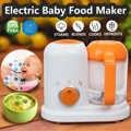Elektrikli bebek gıda yapma makinesi hepsi bir arada yürümeye başlayan karıştırıcılar vapur işlemci BPA ücretsiz gıda sınıfı PP ab AC 200- 250V buhar gıda güvenli
