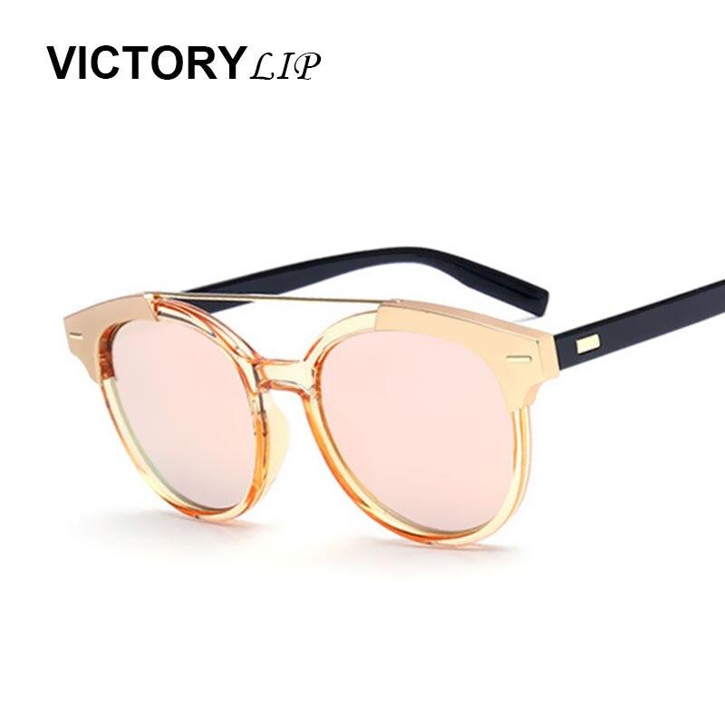 Victorylip moda buena calidad tamaño pequeño vintage ojo de gato marca  diseñador espejo blacktie Gafas de sol mujeres Sol gafas señora fc6b7208e170