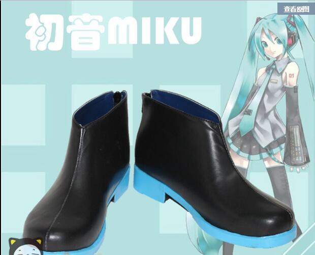 VOCALOID Hatsune Miku Cosplay bottes chaussures personnaliser n'importe quelle taille