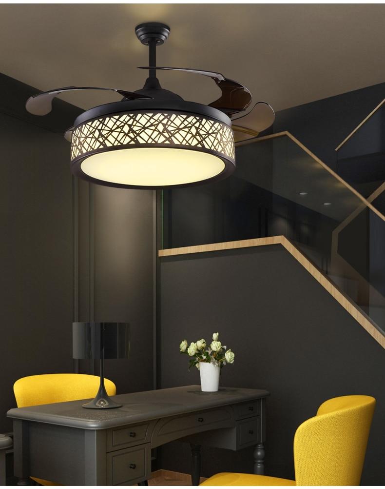 42inch Ceiling Fan Light Ceiling Fans Simple Modern Bedroom Living Room Dining Room Fan Light Ceiling