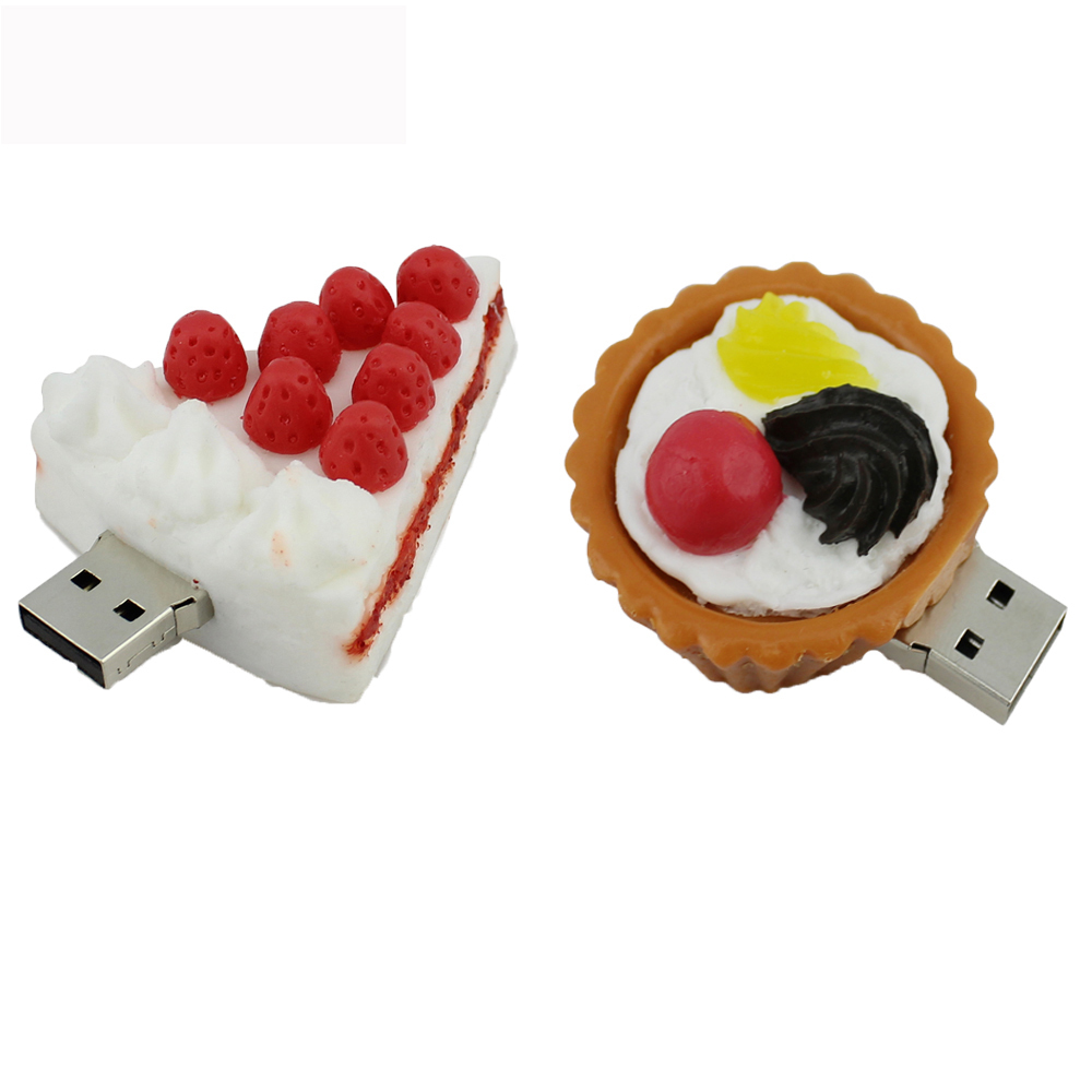 Chyi Delicious Food Usb Flash Drive Pen Drive Strawberry Cake Egg
