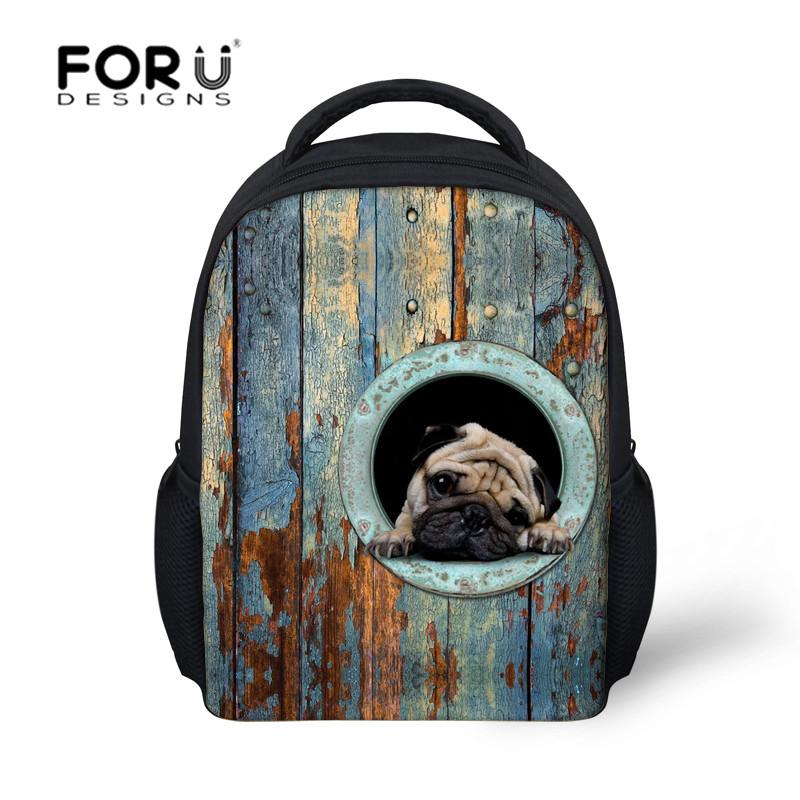 New Zoo Animals backpacks for children boys and girls small back pack kids mochila infantil schoolbags kindergarten school bag