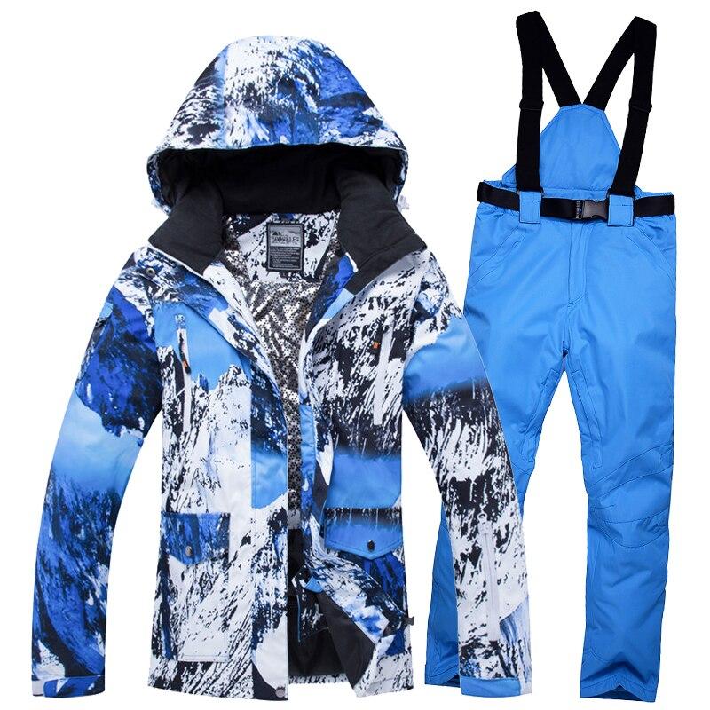 Ski Suit Women Brands 2018 New High Quality Snow Snowboard Jackets Pants Warm Waterproof Windproof Winter Set Jacket Momen Ski цена и фото